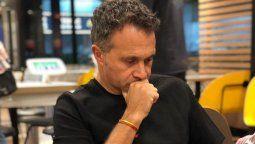 El mal momento que pasó Sergio Lapegüe y que grabó en redes