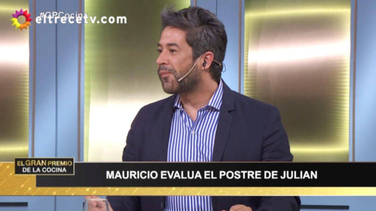 La molestia de Mauricio Asta luego de que Carina Zampini y un participante ningunearan su profesión