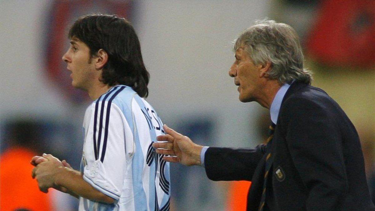 José Pekerman: A Lionel Messi se lo robamos a España