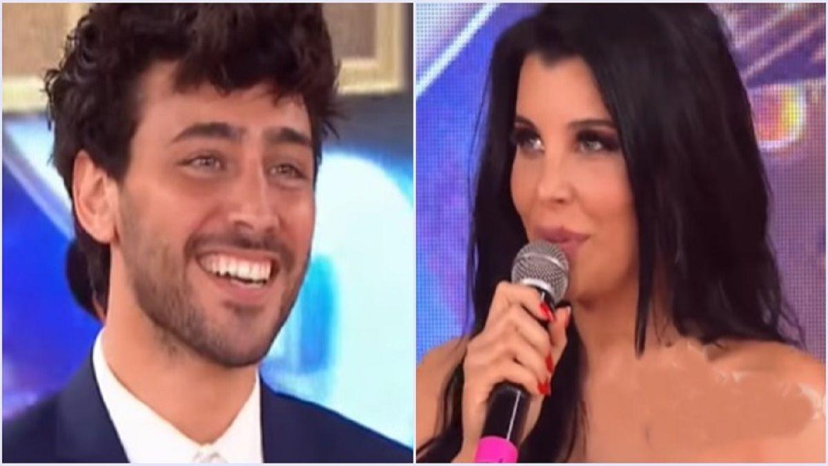 Te tiro unos pesos: Lizardo Ponce y Charlotte Caniggia en un cara a cara