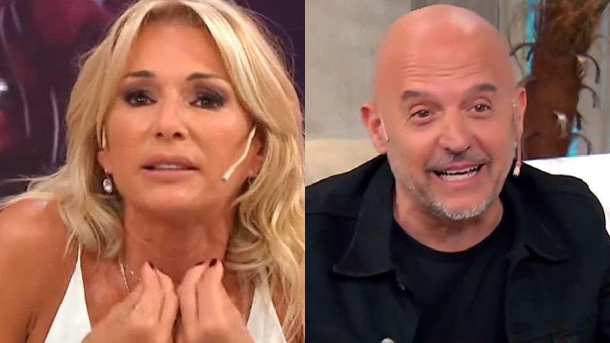Yanina Latorre amenazó al Pelado López: Si abro la boca y hablo de las cosas que hacía en el camarín...