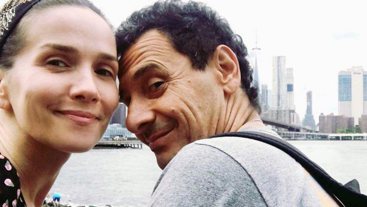 Natalia Oreiro le dedicó una amoroso mensaje a Ricardo Mollo