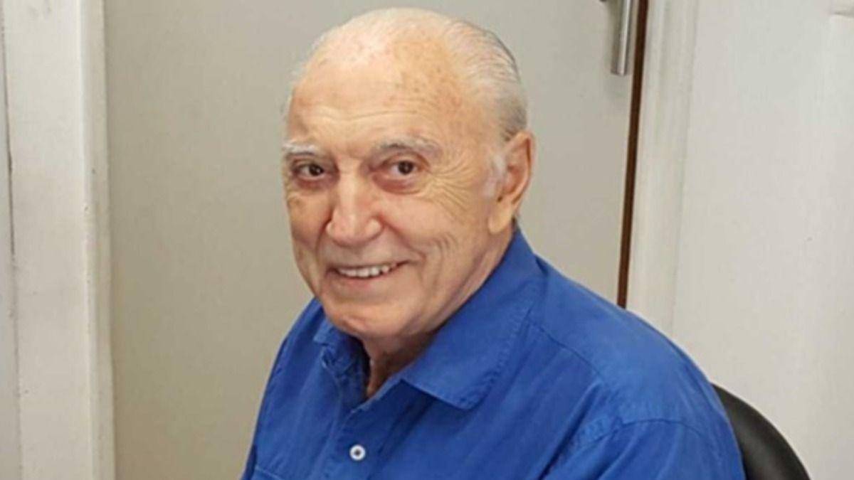 Jorge Cacho Fontana está internado ahora en el Hospital Milstein