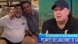 El exsecretario de Diego Maradona apuntó contra Matías Morla