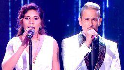 ¡Impresionante! El performance de Rocío Quiroz y Rodrigo Tapari que deslumbró al jurado