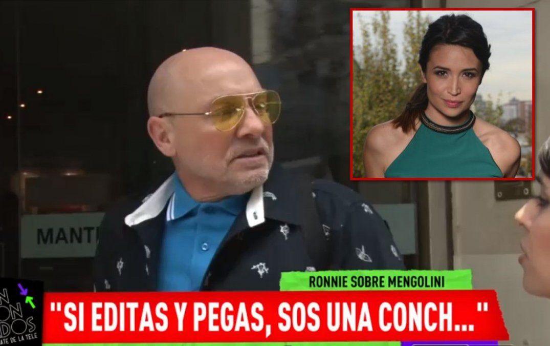 Ronnie Arias, lapidario con Julia Mengolini; le dedicó un fuerte calificativo