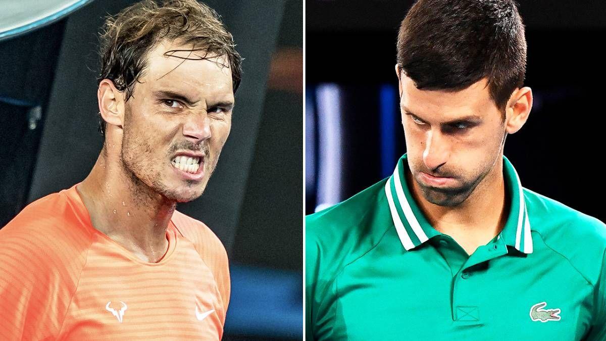 ¡Enfrentados! Rafa Nadal y Novak Djokovic siguen con su eterna discusión