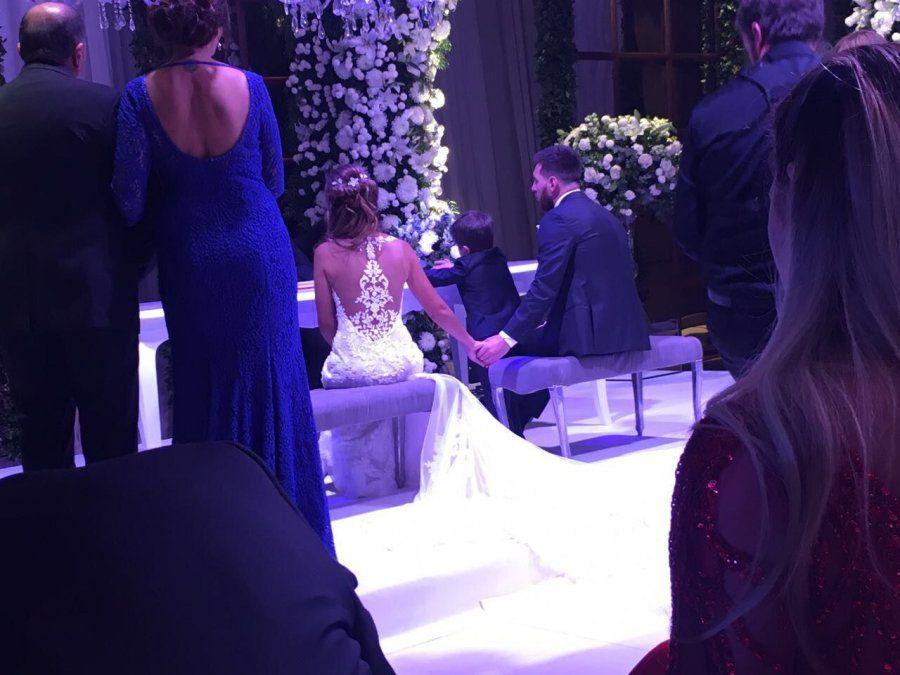 La ceremonia de casamiento de Lionel Messi y Antonella Roccuzzo desde adentro