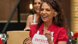 Patricia Sosa le envió un mensaje a sus detractores en Masterchef Celebrity Argentina.