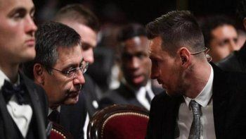¡Con todo! Lionel Messi le tiró duro a Bartomeu por la salida de Suárez