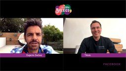 Eugenio Derbez le enseña español a DJ Tiësto