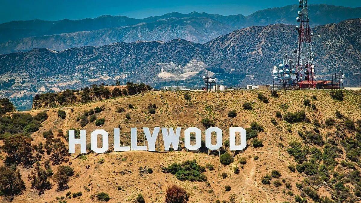 Característico letrero de Hollywood