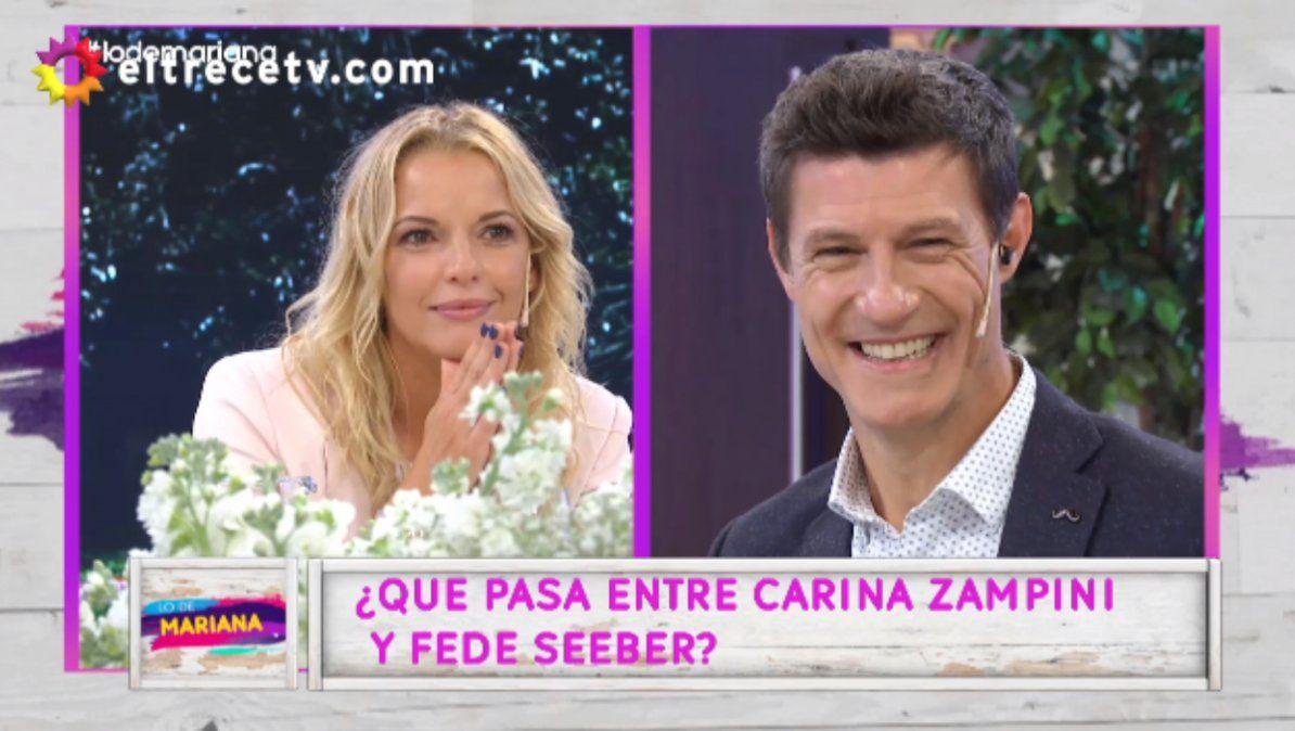Carina Zampini y Federico Seeber hablaron cara a cara sobre su supuesto romance