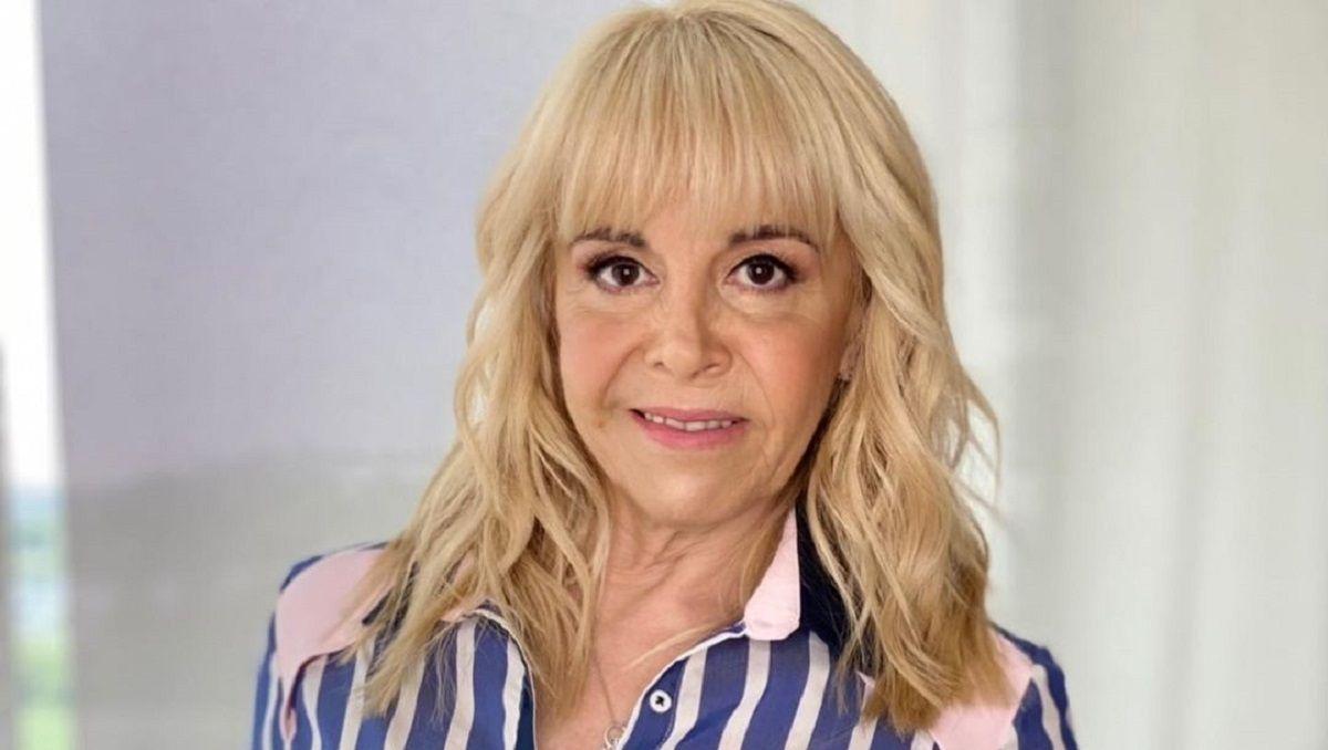 Claudia Villafañe volvió a cocinar en la televisión