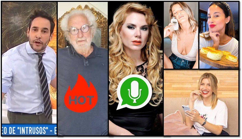 Escandalones: se filtran audios de Esmeralda Mitre desquiciada; Pacho O Donnell se desnuda y el curro perfecto de las famosas