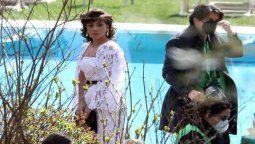 ¡Otra probadita! Lady Gaga se volvió a ver como Gucci