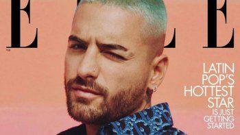 ¡Histórico! Maluma es el primer hombre en la portada de Elle