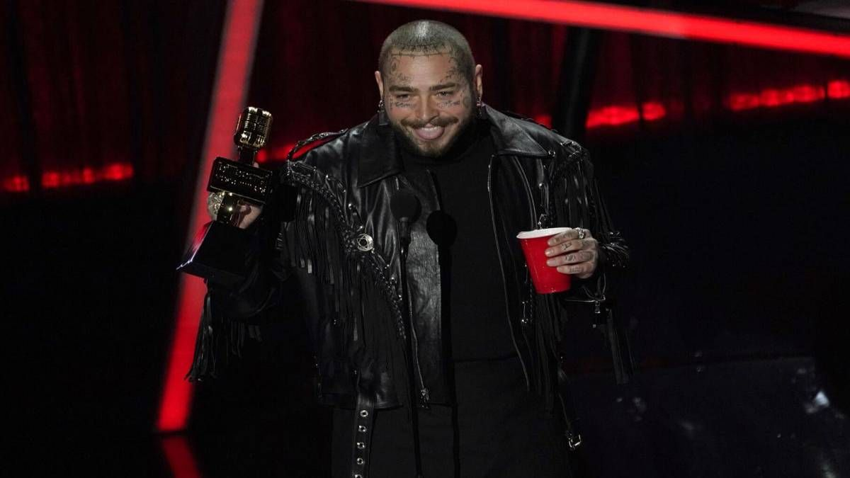¡La estrella! Post Malone arrasó en los Billboard Music Awards
