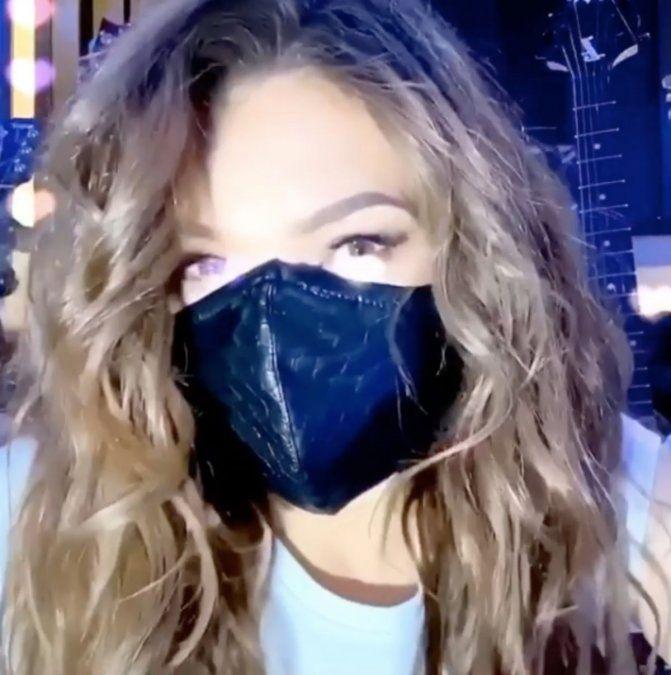 Thalía mostró en TikTok su costosa colección de tapabocas