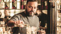 El bartender Tato Giovannoni fue distinguido con el premio que otorga 50 Best Bars