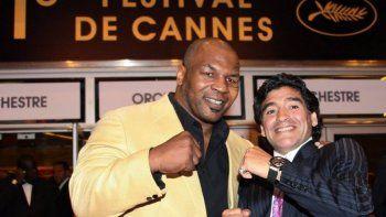 Mike Tyson y su adiós a Diego Maradona: Él fue uno de mis héroes