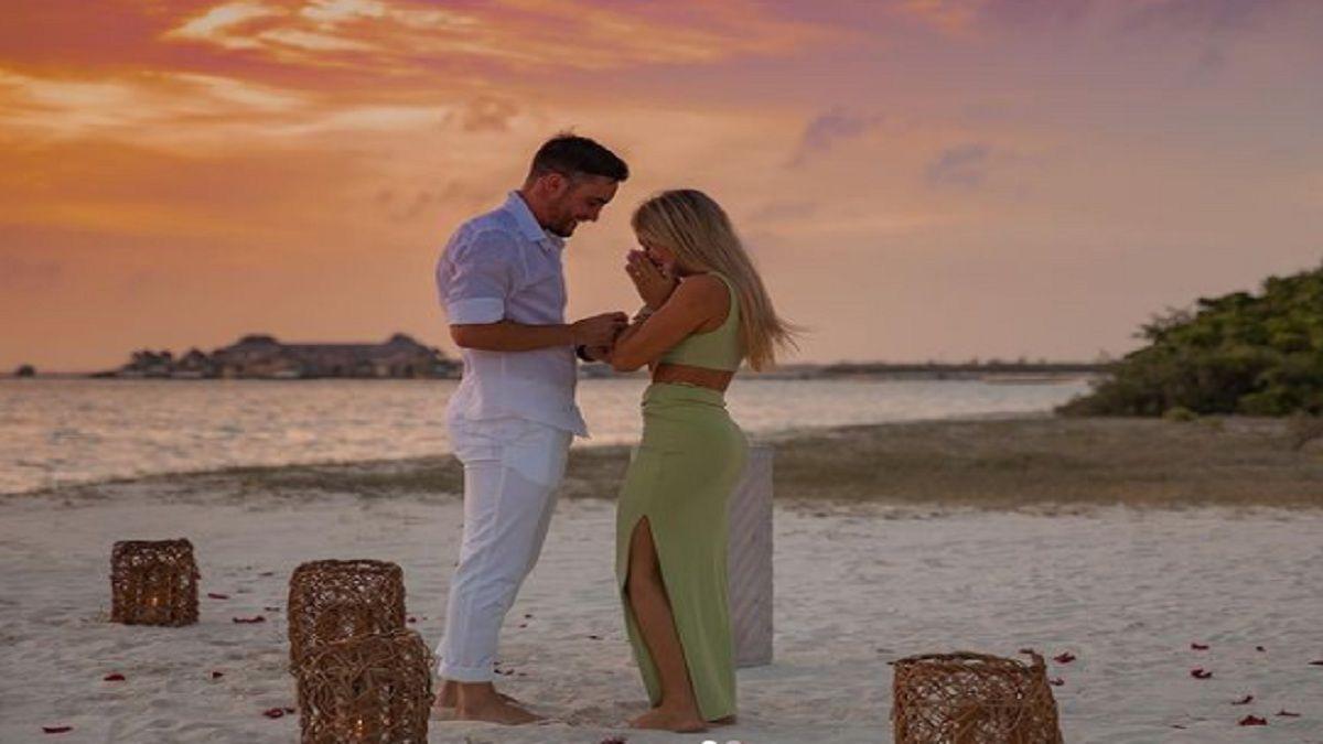 La romántica propuesta de casamiento que hizo Nicolás Tagliafico a su novia