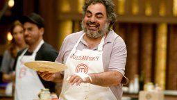 Roberto Moldavsky tuvo un accidentado día en Masterchef Celebrity