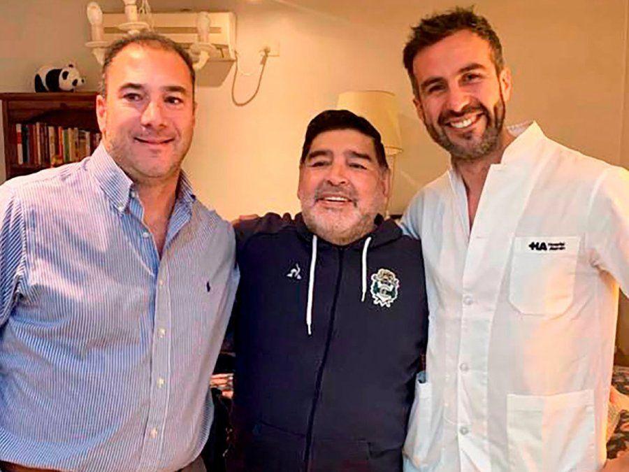 Nuevos audios de Leopoldo Luque que discriminan a las hijas de Diego Maradona