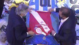 La emotiva despedida de Alberto Fernández a Diego Maradona