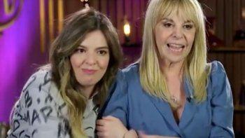 La reacción de Claudia Villafañe con Rocío Oliva cuando lloraba