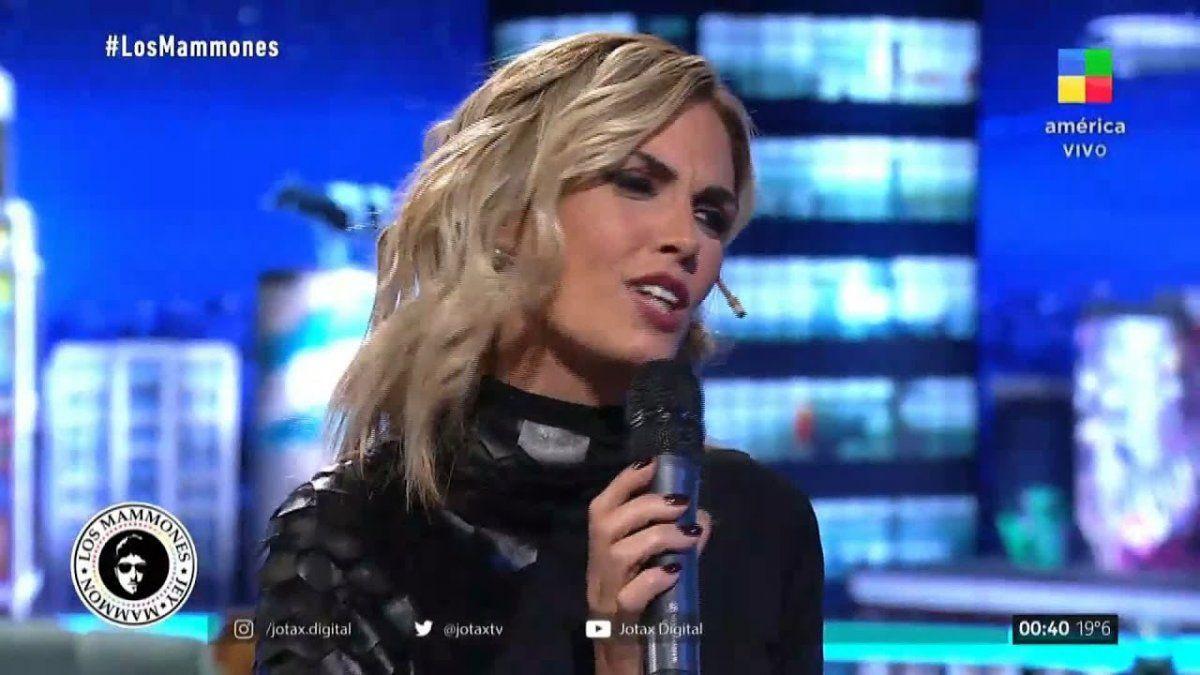 Viviana Canosa recordó su paso por Los Mammones