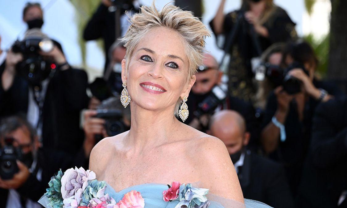 Sharon Stone fue en calidad de invitada al Festival de Cine de Cannes