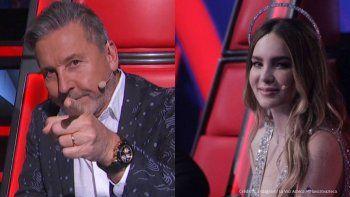 Belinda, entre la polémica y lo tierno con Ricardo Montaner
