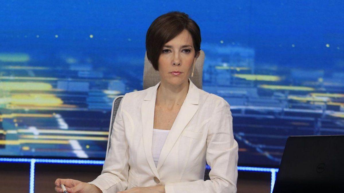 La conductora de Telefe Noticias