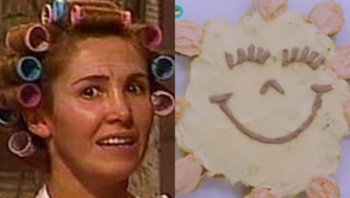 Bake off: la torta de Sol de Belén se convirtió en meme