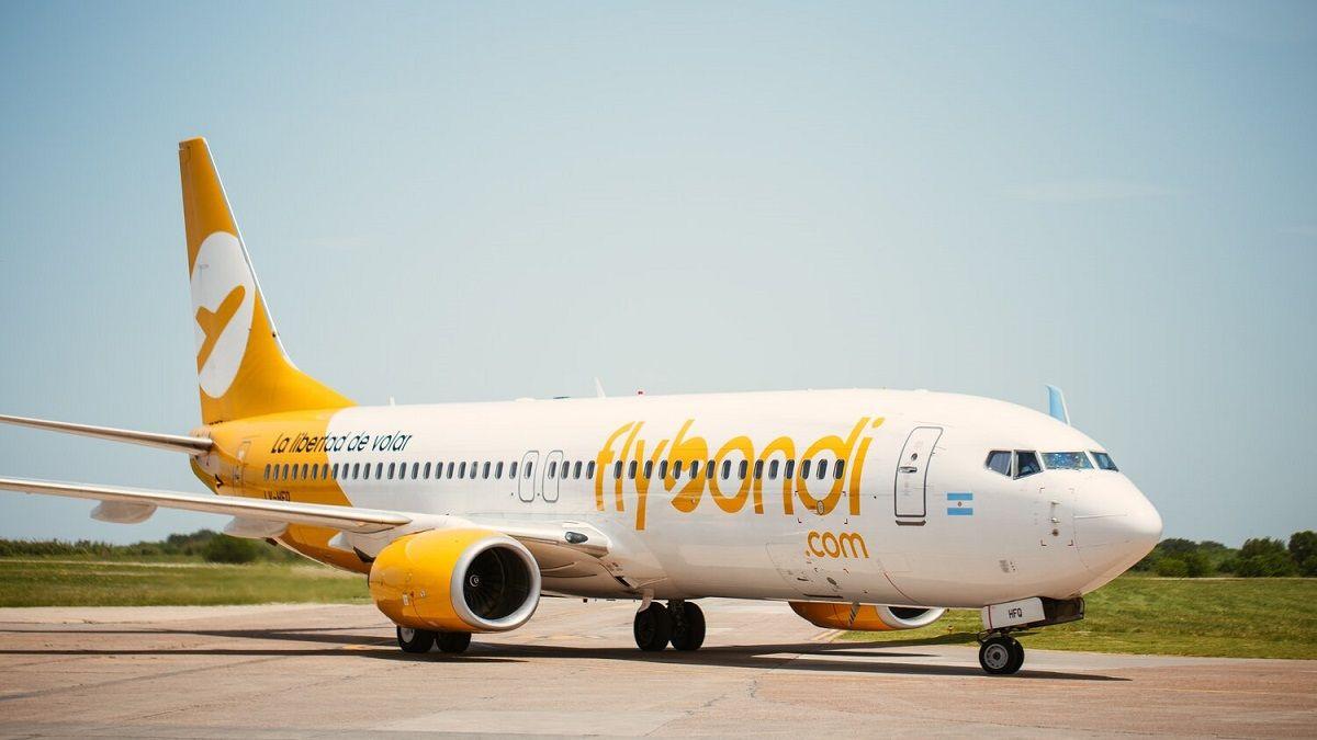 Los vuelos nacionales de Flybondi estarán a un precio más económico