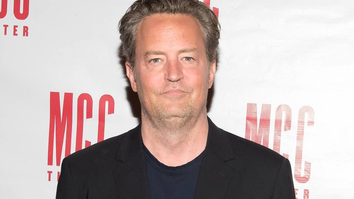 El actor Matthew Perry fue uno de los protagonistas de la serie Friends