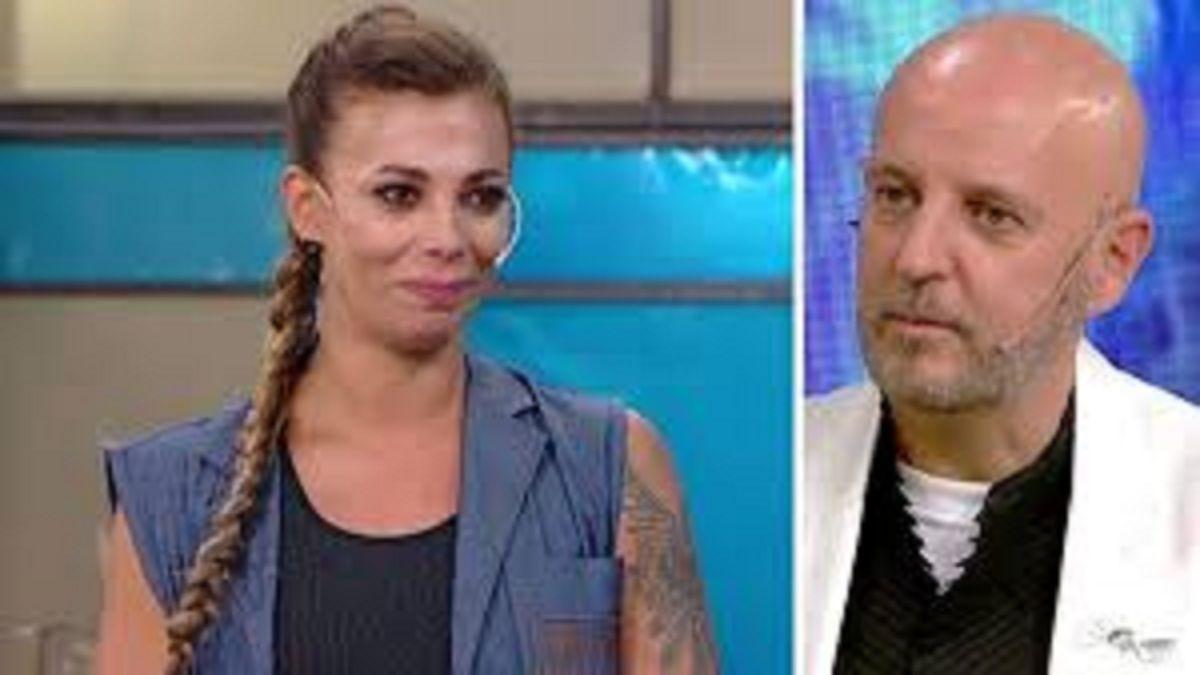 Ximena Capristo no aguantó las lágrimas ante la devolución de Fabián Zitta