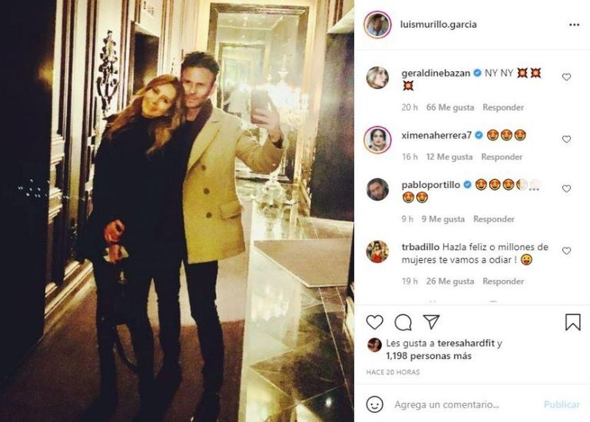 Geraldine Bazán no esconde su nuevo novio