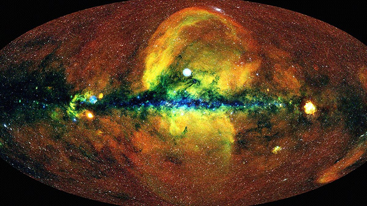 Revelan un nuevo e impresionante mapa del universo construido con sus rayos X