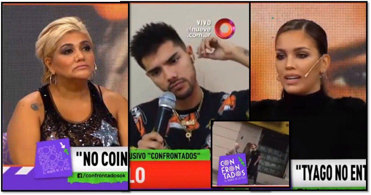 Escándalo con la Bomba Tucumana y el hijo con Rocío Robles, que sale con el ex de Virginia Gallardo