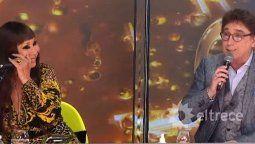 Moria Casán mandó al frente a Oscar Mediavilla en el Cantando