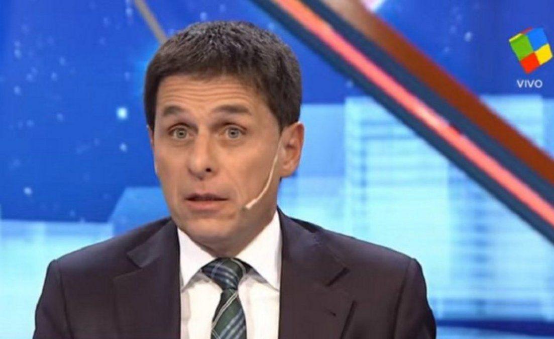 Los motivos de la baja de Fernando Carnota a Animales Sueltos que conducirá Luis Novaresio