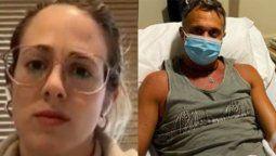 La hija de Sergio Lapegüe dijo que su papá no está intubado