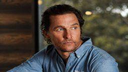 ¡Horror! Matthew McConaughey hace una terrible confesión: fue violado
