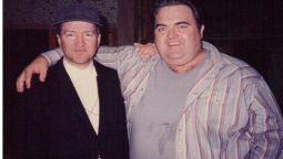 El actor Walter Olkewicz junto al directorDavid Lynch