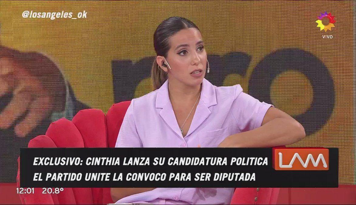 Cinthia Fernández anunció su candidatura a diputada y Twitter explotó