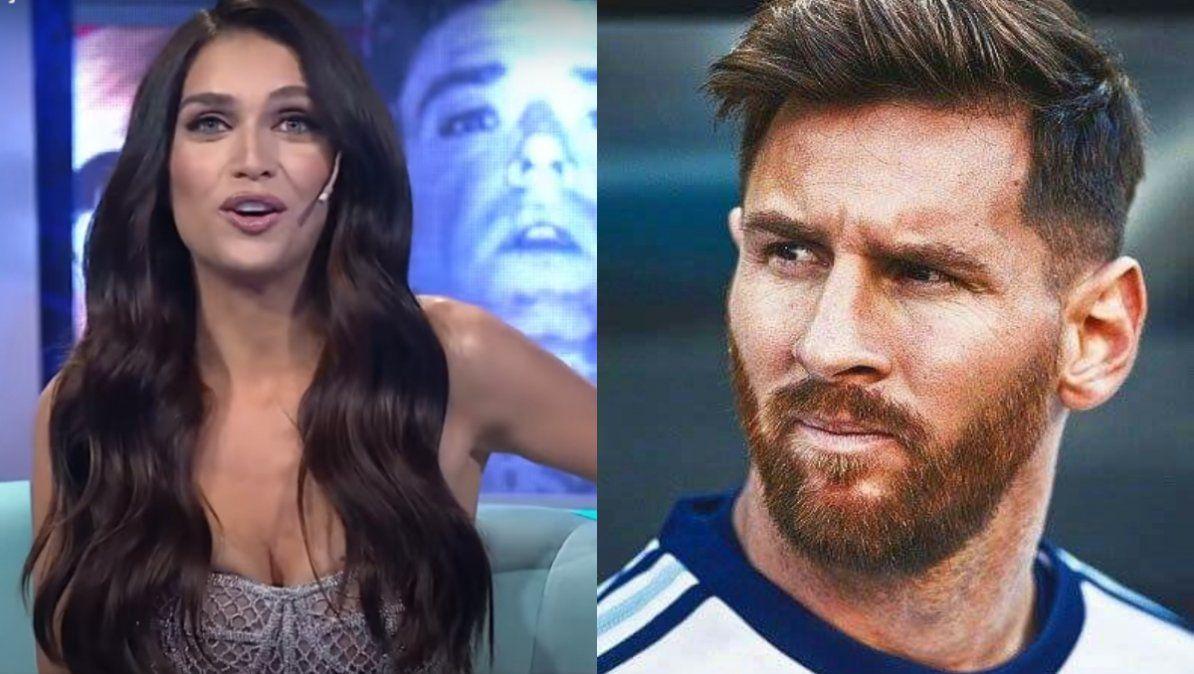 Zaira Nara relató cómo fue la noche en la que Messi intentó conquistarla: Lo mandé a cag...