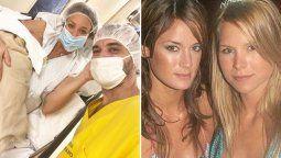 Paula Chaves recibió señales de Jazmín De Grazia mientras daba a luz a su hija