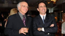 Larry David y Jerry Seinfield son los creadores de la serie Seinfield